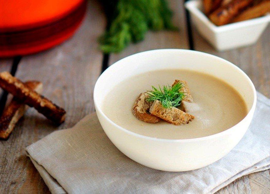 Суп пюре грибной из опят рецепт с пошагово в