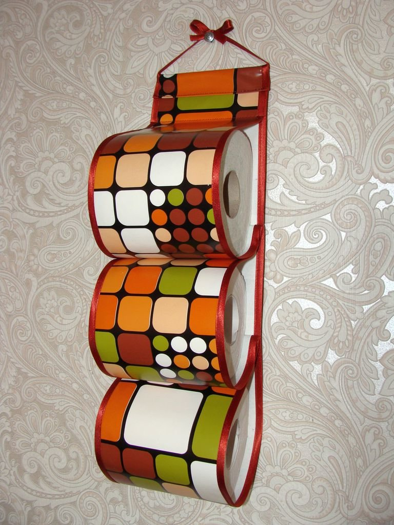 Подставка для туалетной бумаги своими руками