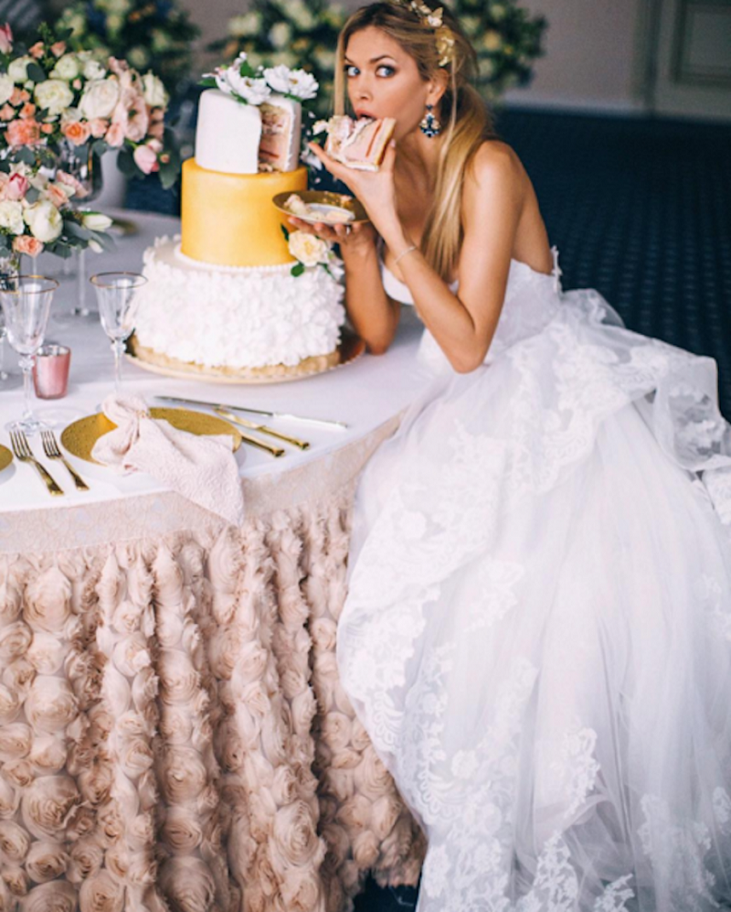 Посмотреть фото свадьбы веры брежневой