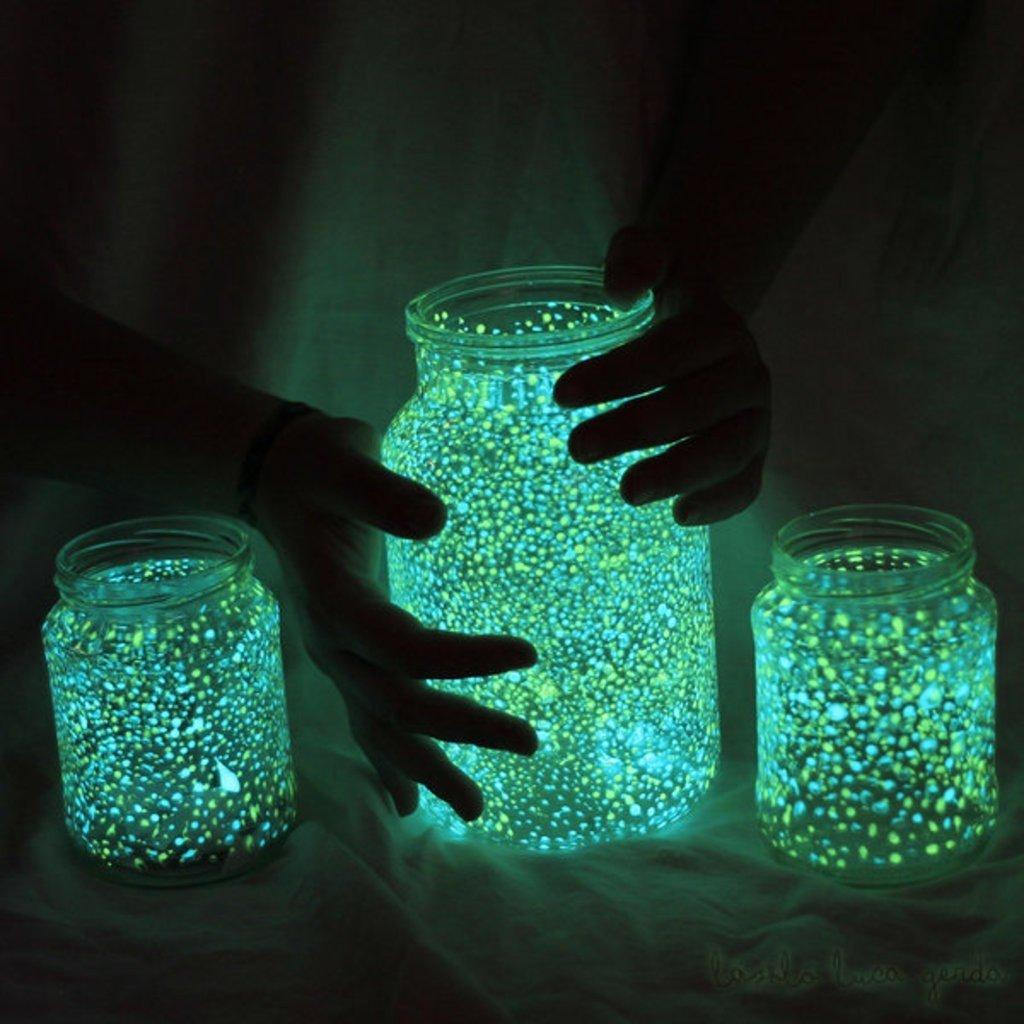 Люминесцентный светильник своими руками