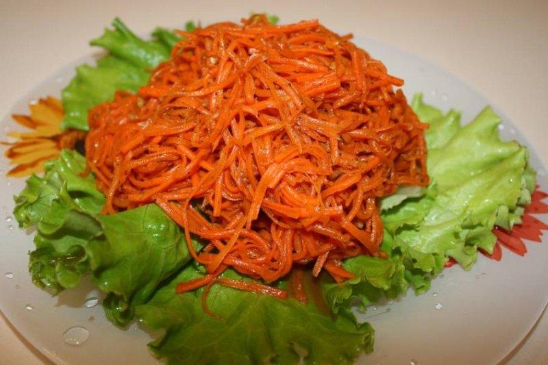Как сделать корейский салат из морковью