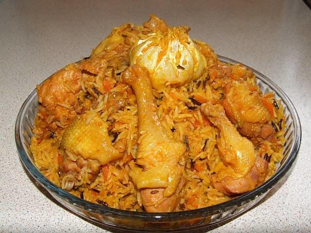 Плов с курицей рецепт с пошагово в духовке в горшочке в духовке