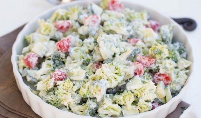 Салат из брокколи рецепты быстро и вкусно с