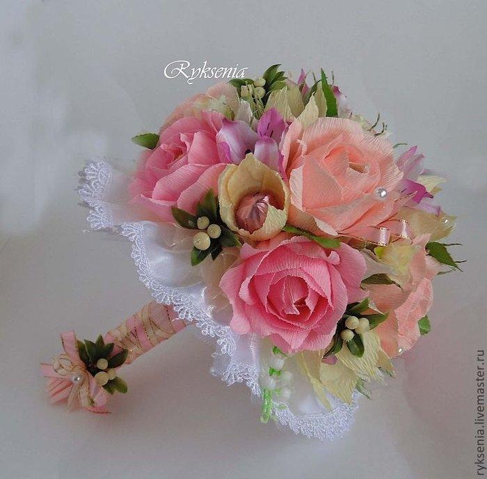 Букет из конфет невесты своими руками 1