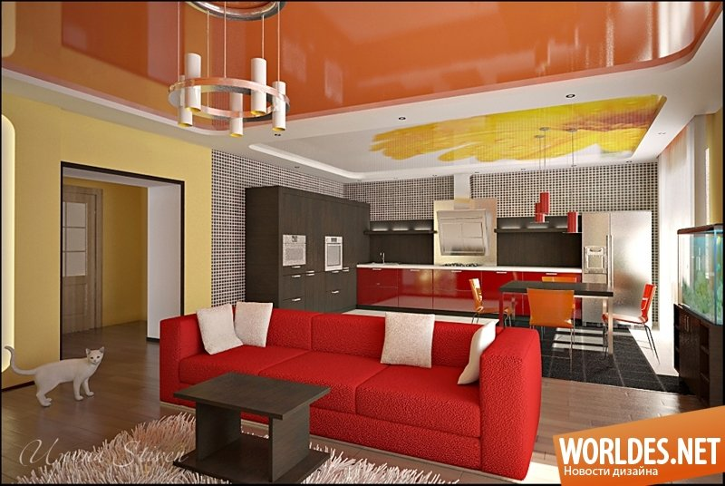 Дизайн проекты кухня гостиная совместно