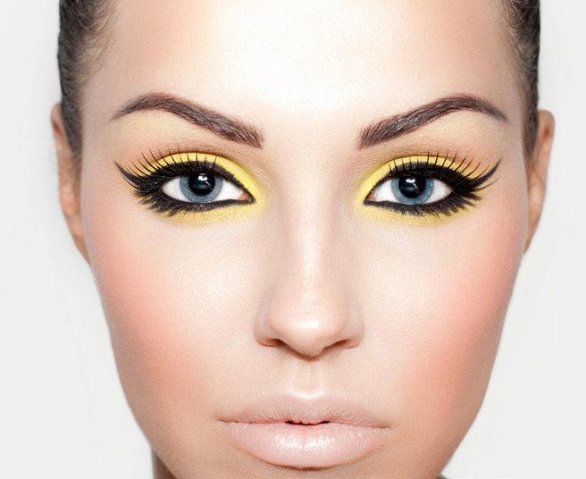 Фото макияж для моего овала лица и глаз