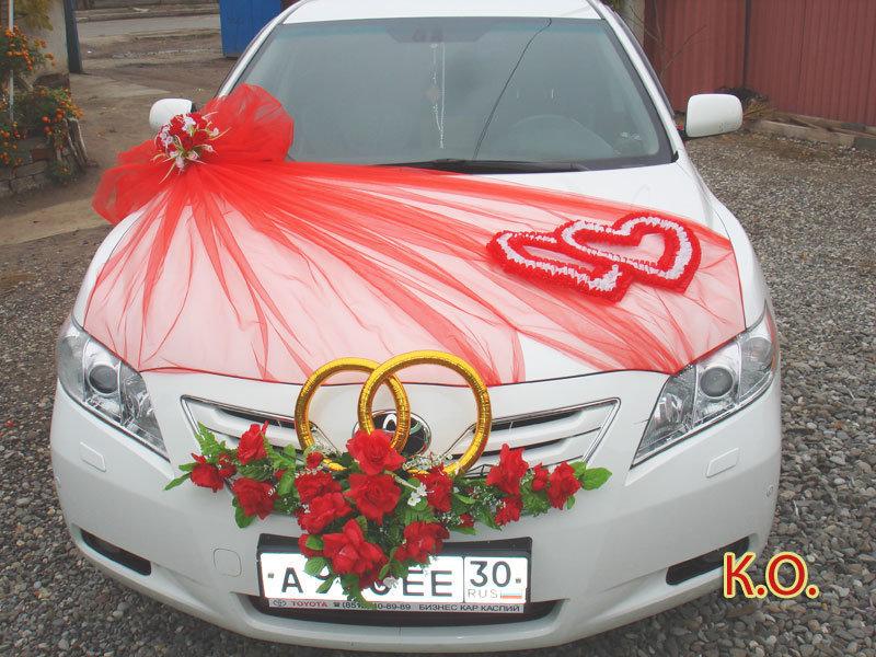 Как сделать украшение на свадебные машины