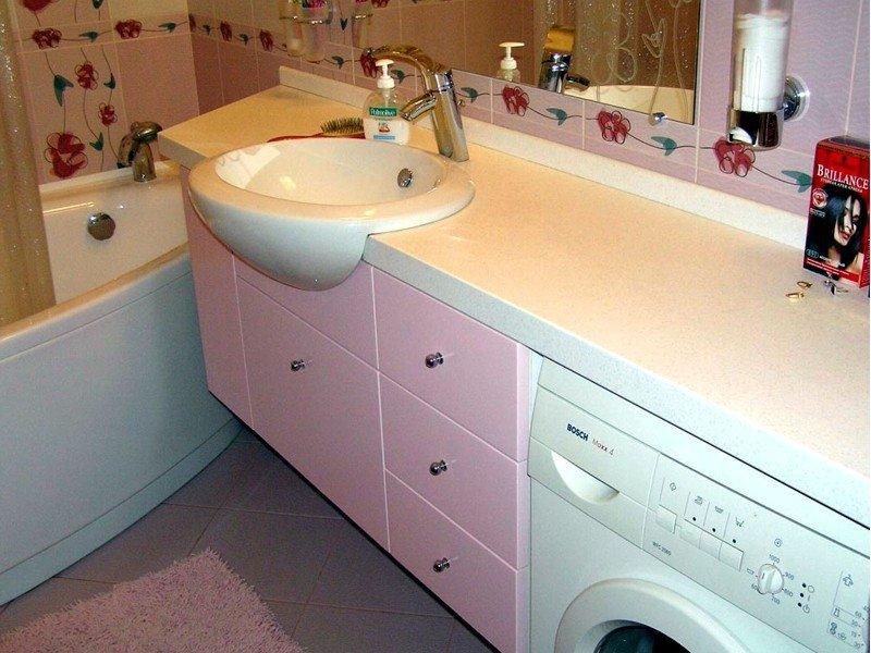Ремонт мебели для ванной комнаты своими руками