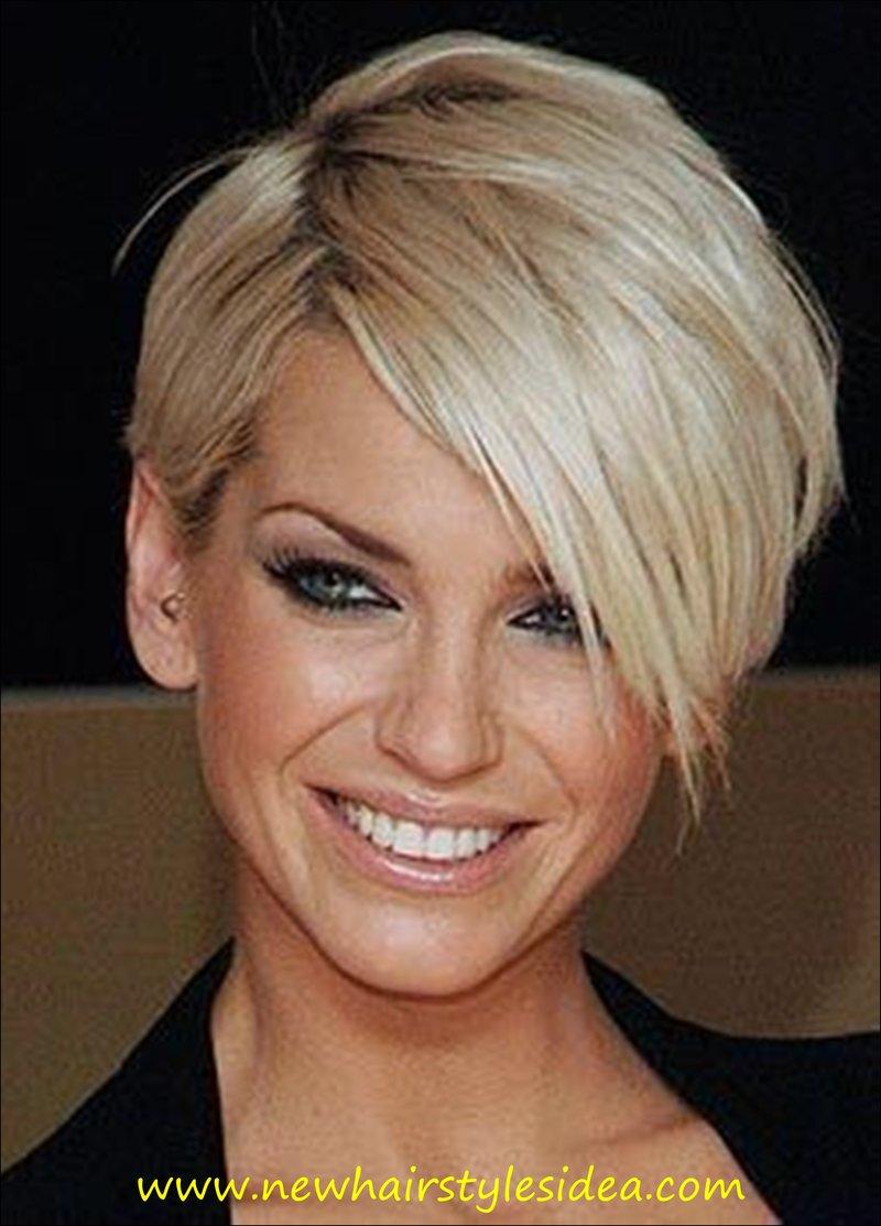 Короткая стрижка для блондинки