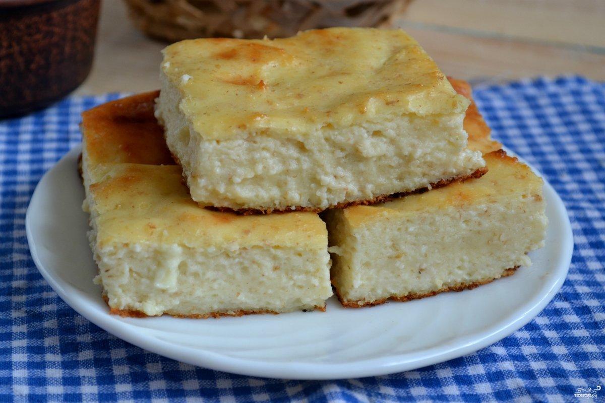Рецепт вкусной творожной запеканки с фото пошагово
