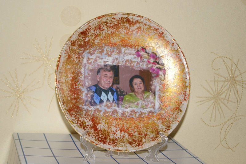 Как сделать фото на тарелку