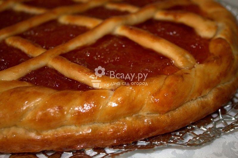 Пирог из песочного теста с вареньем в духовке рецепт пошагово в