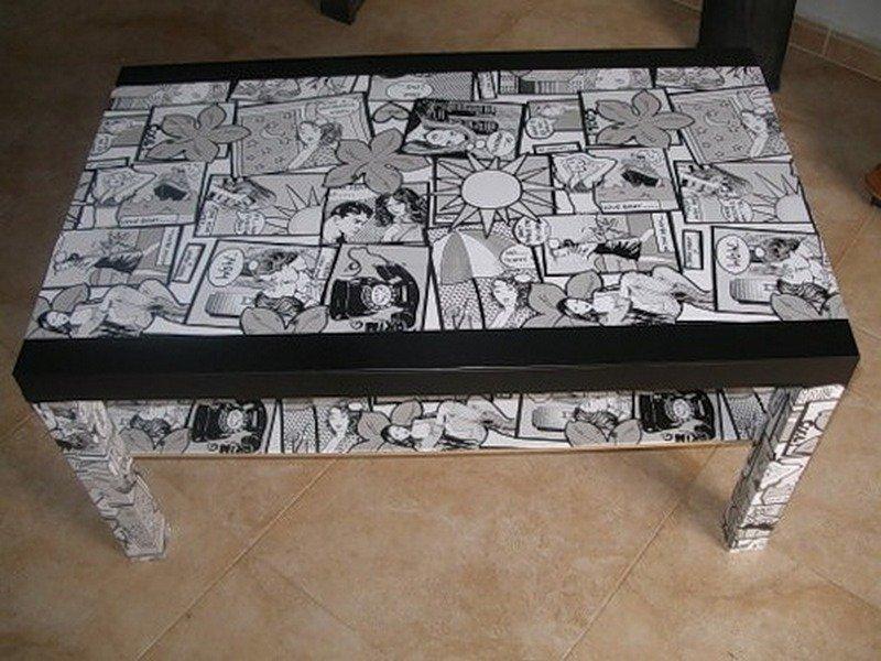 Декорирование мебели декупаж своими руками