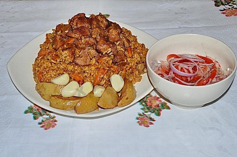 Пошаговый рецепт узбекского плова с