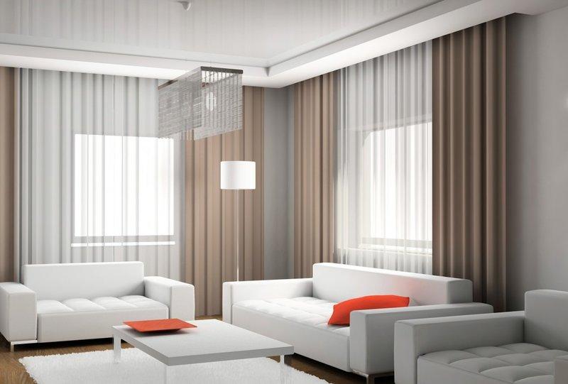 Дизайн интерьера штор
