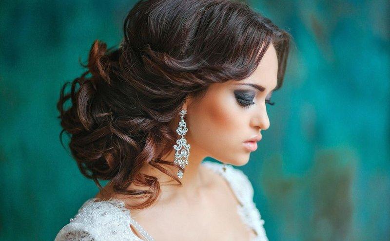 Фото свадебная прическа на длинные во