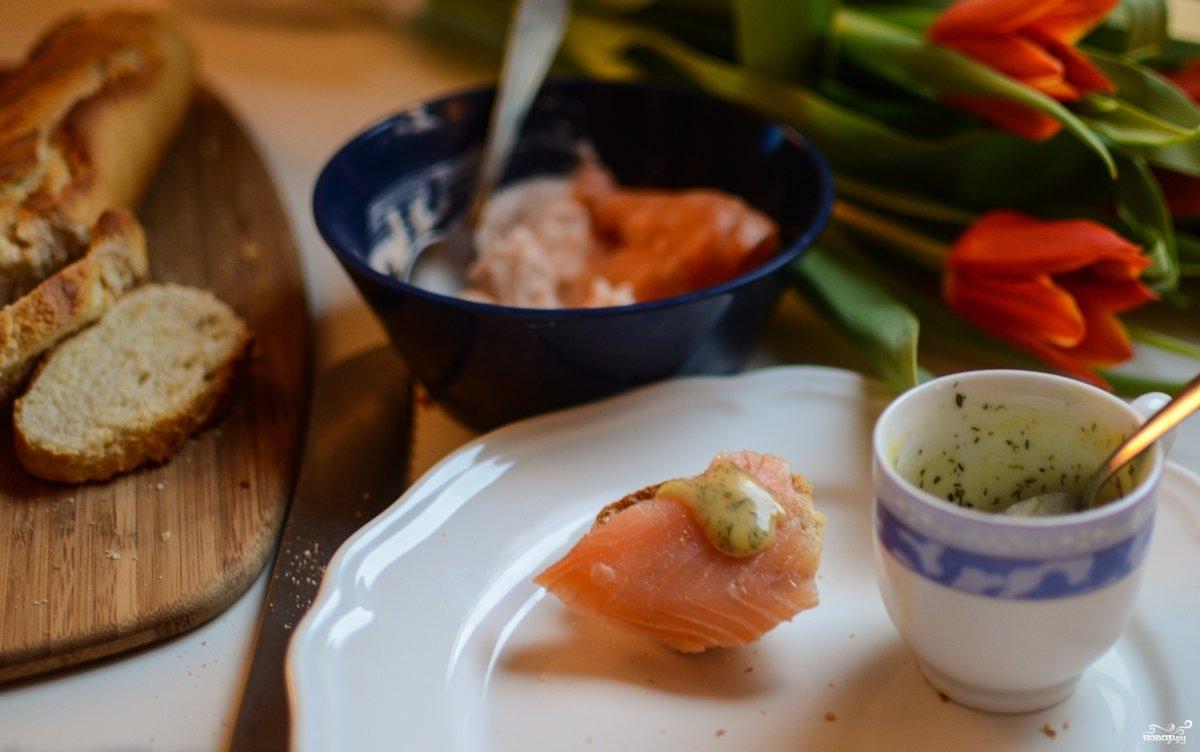 Соус для копченой рыбы рецепт