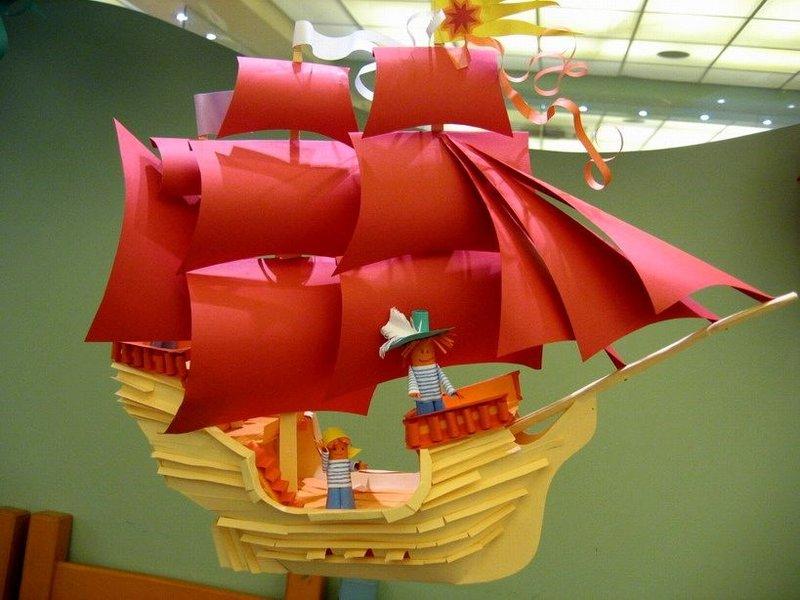 Картинки корабль своими руками