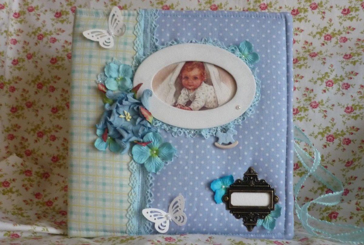 Как сделать своими руками фотоальбом для новорожденного