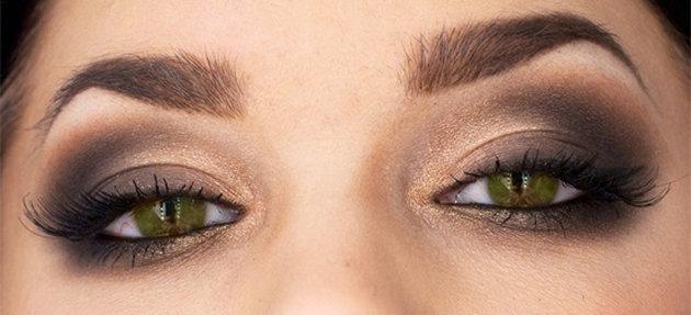 Макияж в домашних условиях для зеленых глаз фото