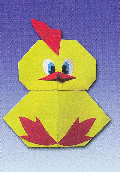 Поделки цыплята из бумаги своими руками