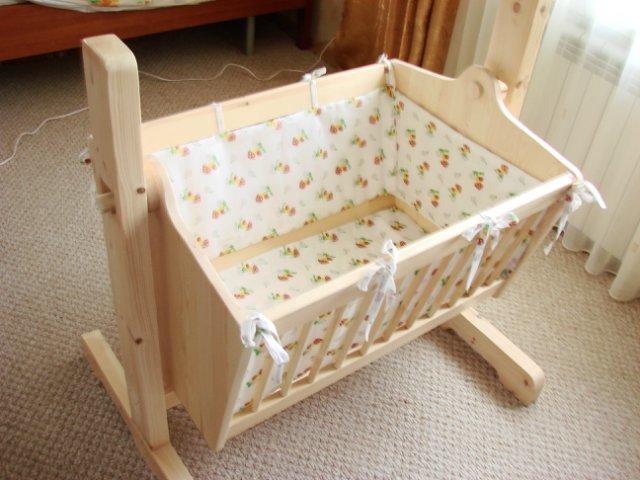 Как самому сделать детскую кроватку для новорожденных