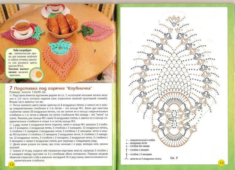 Вязание схемы и описание рукоделие 156
