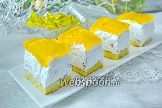 Творожное желе рецепт с желатином с пошагово