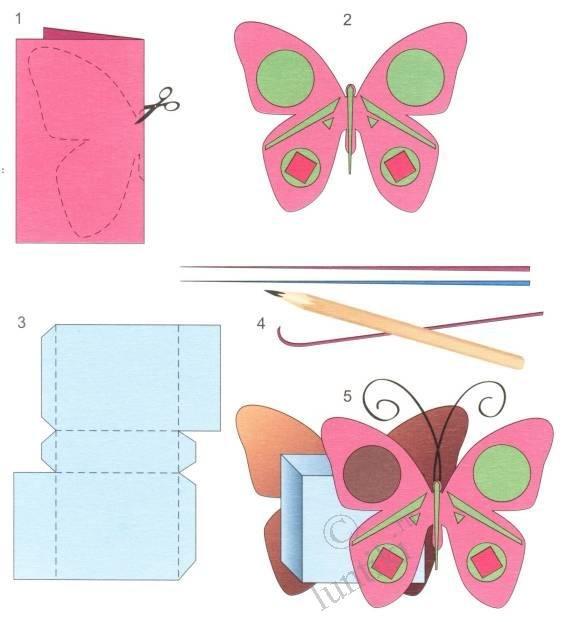 Поделки из картона с инструкцией 21