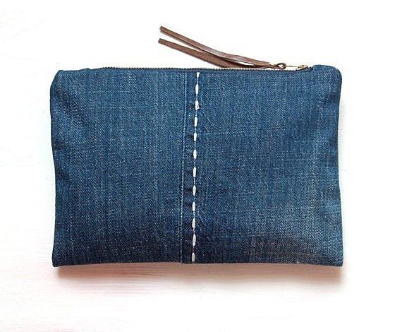 Сшить кошелек своими руками из джинс 906