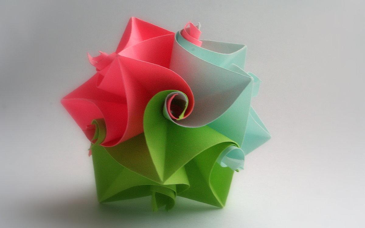Оригами на день рождения сестре