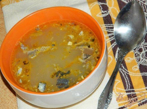 Суп из рыбных консервов рецепт пошагово с рисом простой 9