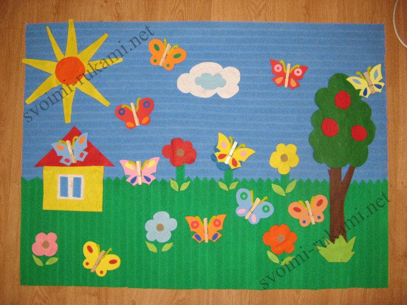 Поделки коллажей в детском саду
