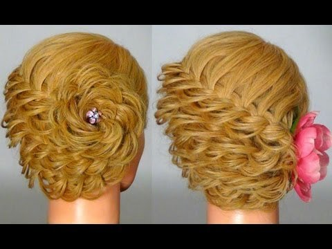 Плетение кос на среднюю длину