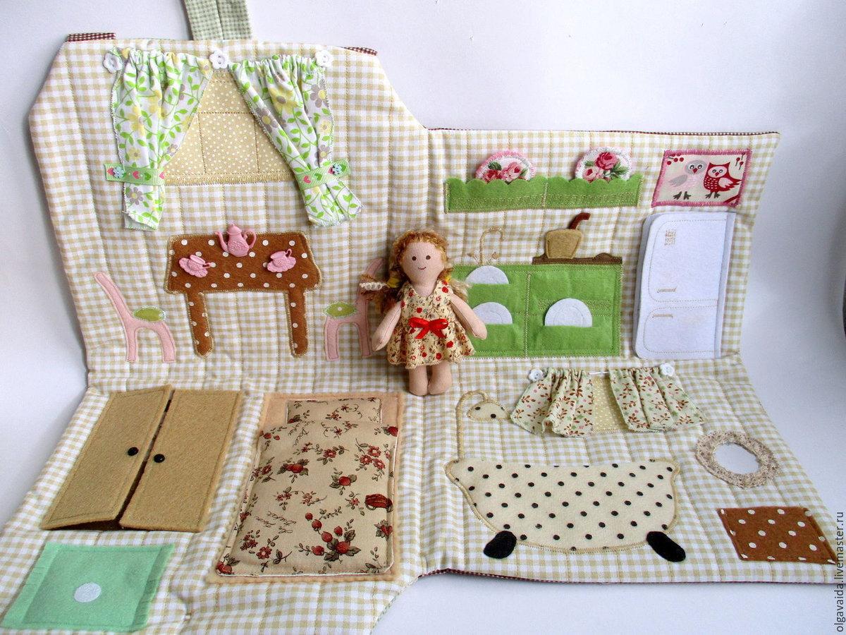 Домик книжка для кукол своими руками как  314