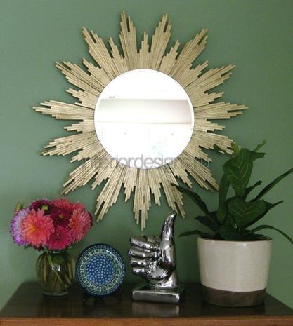 Как сделать украшения для зеркала