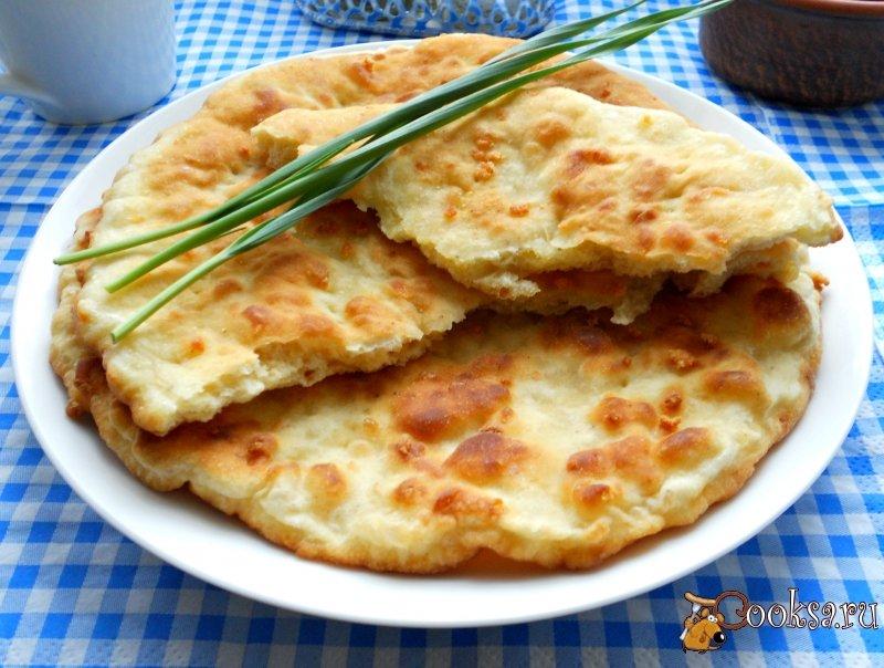 Лепешки с сыром рецепт с пошаговый рецепт с