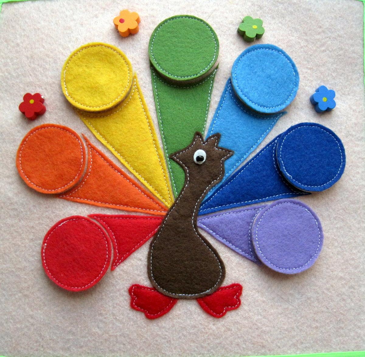 Развивающие книги для детей 1-2 года своими руками из фетра
