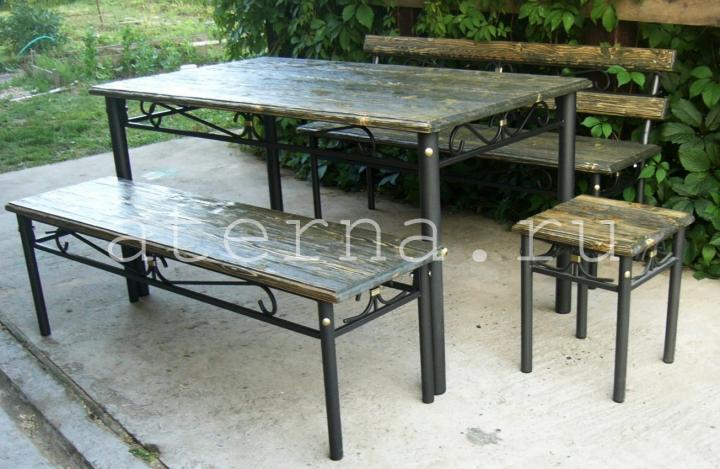 Металлические столы для дачи