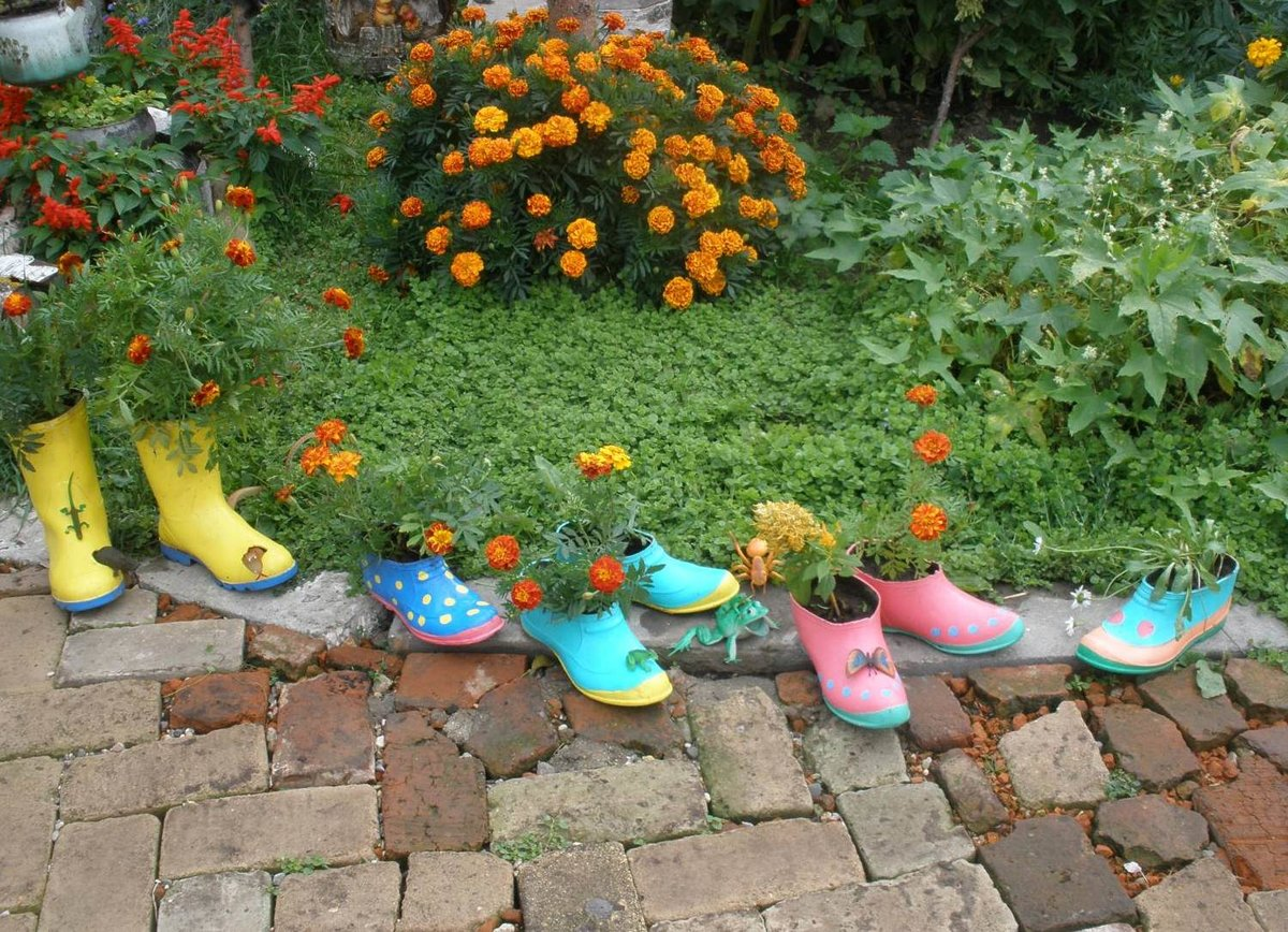 Фото идеи для сада своими руками