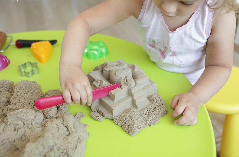 Как сделать генетический песок в домашних условиях