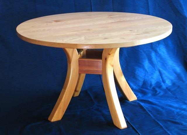 Как сделать круглый стол деревянный