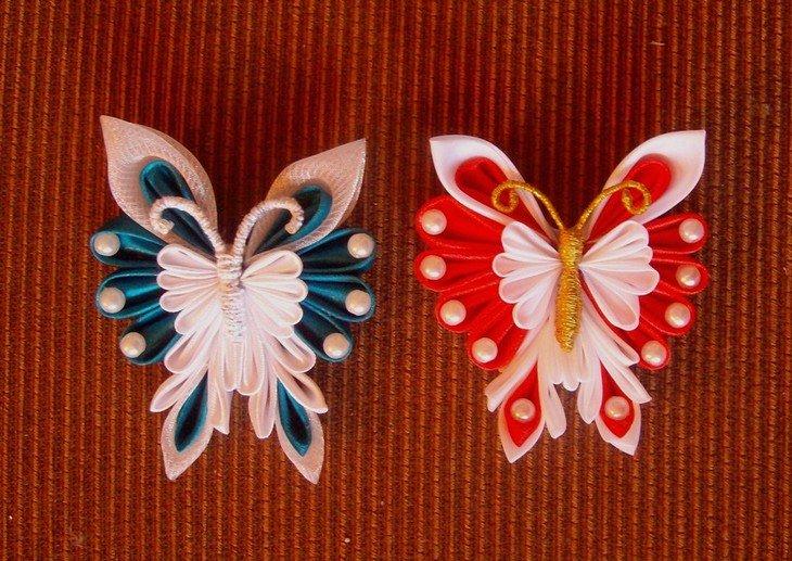 Идеи канзаши своими руками фото 173