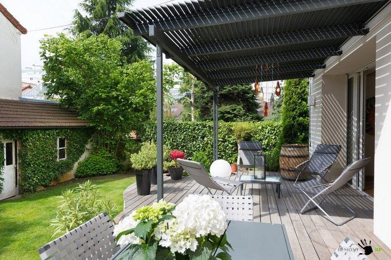Дизайн маленького дворика частного дома