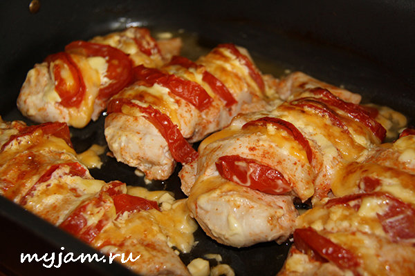 Филе из курицы в духовке рецепты