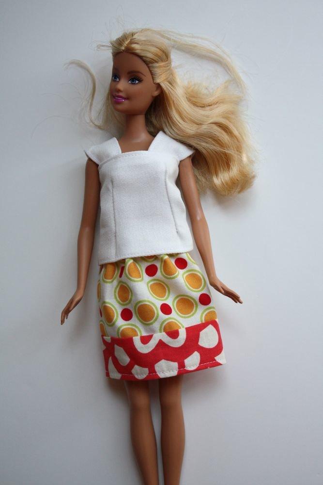 Платья для кукол своими руками из ткани фото 96