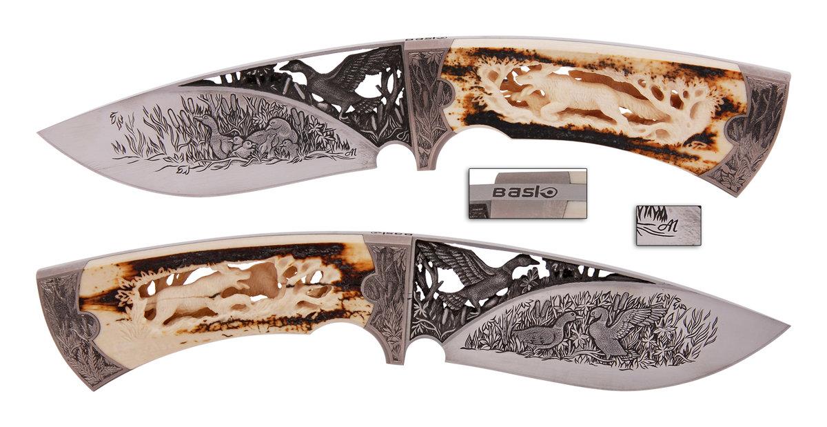 Нож из стекла своими руками 48