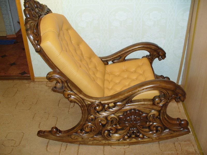Кресла качалки своими руками из массива