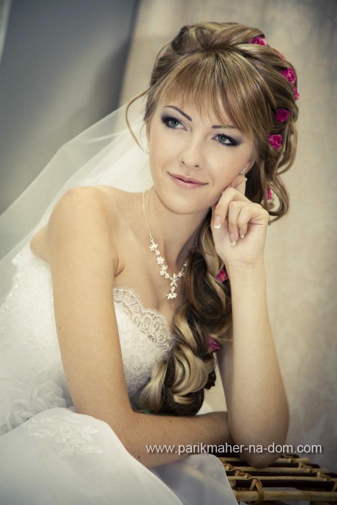 Свадебный макияж в пушкино