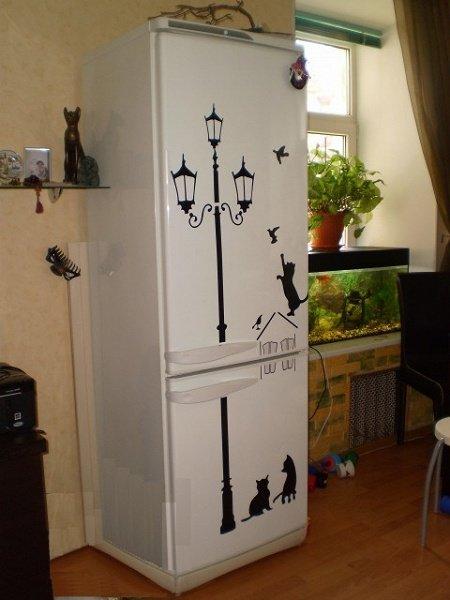 Украсить холодильник своими руками 1021